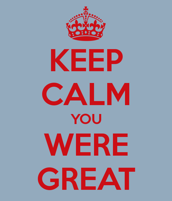 you-were-great