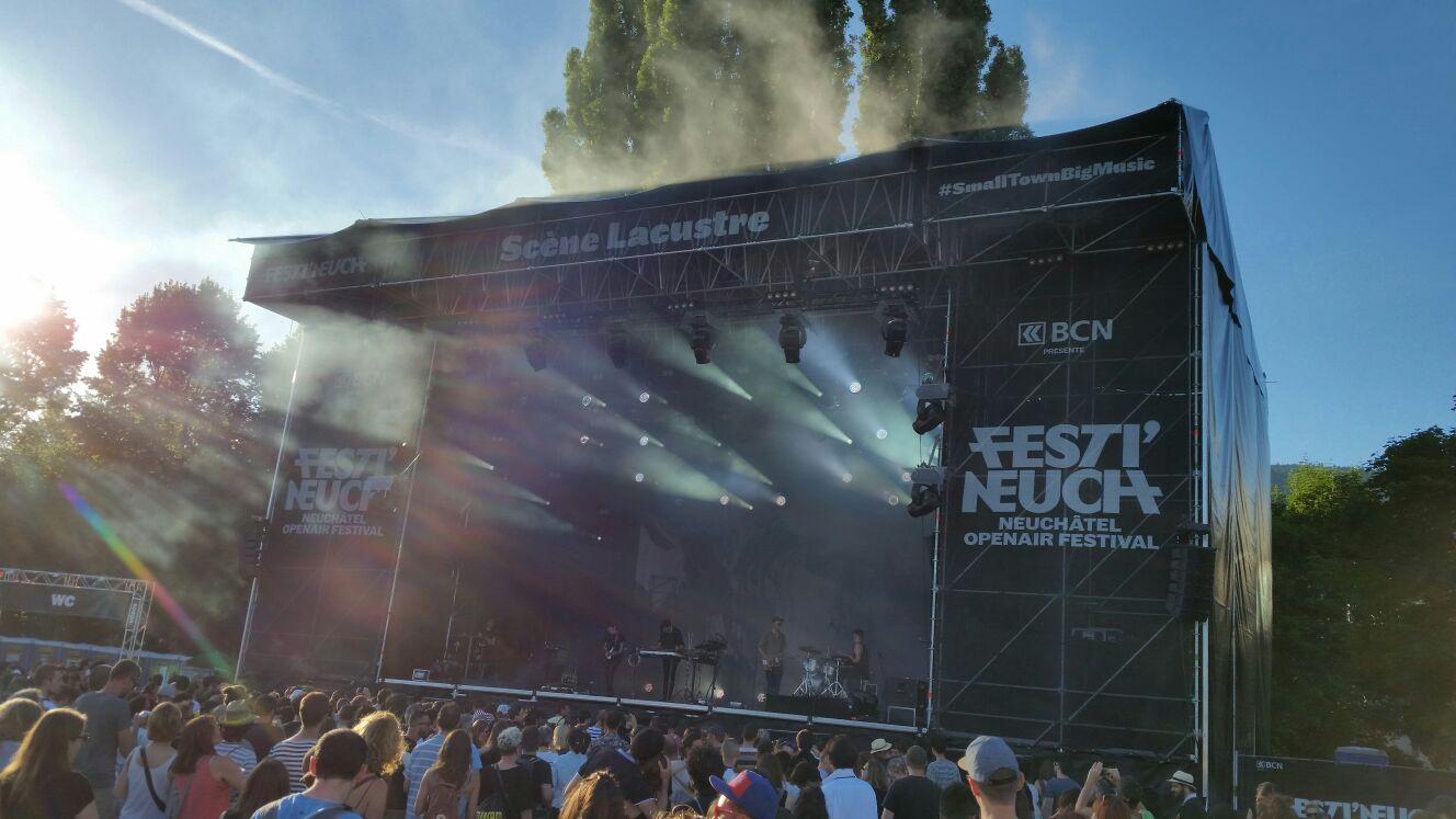 La scène Lacustre à Festi'Neuch